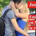 embrasser une fille dans la rue
