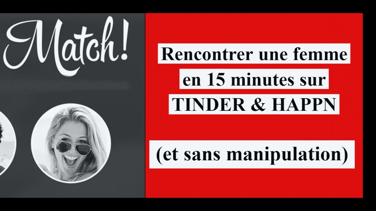 rencontre Happn application en 15 minutes