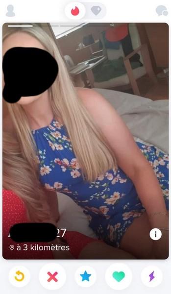 profil femme tinder