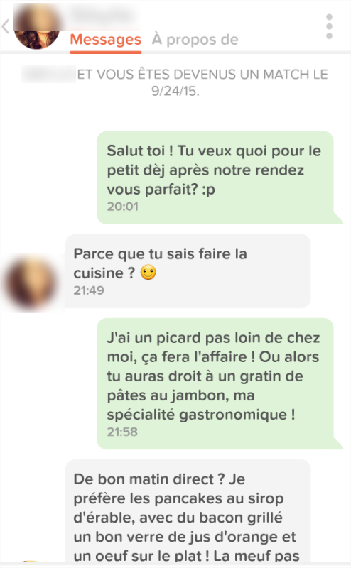 exemple texto drague drole